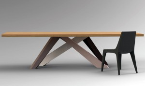 Big Table 200/100 wood  Bonaldo