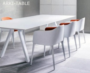 Arki Table 300x100  laminat  Pedrali