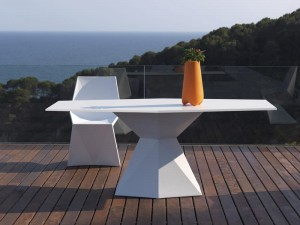 Stół Vertex Full white  Vondom